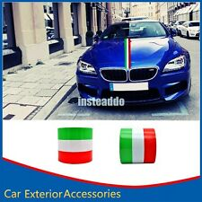 15 X 200CM Car Auto Decal Graphic Italy Stripe Flag Roof Bonnet Boot Sticker