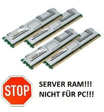 4x 2GB 8GB RAM 2Rx4 FB DIMM Speicher 667 Mhz ECC Fully Buffered DDR2 PC2-5300F