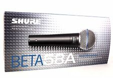 Shure Beta 58A SuperCardioid Dynamic Vocal Pro Microphone Mic Wired XLR NEW