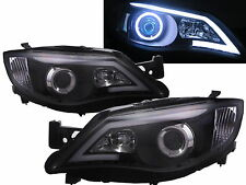 IMPREZA Outback/WRX 07-13 CCFL Projector LED DRL R8 Headlight BK for SUBARU LHD