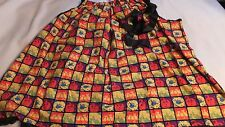 Adult Halloween Witch Pillowcase Dress  One Size Squares