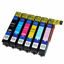 now ink 6 x 24XL for EPSON XP-55 XP-760 XP-860 XP-960 T2438 1Set Non-OEM