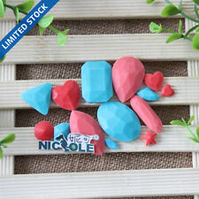Diamond DIY Cake Chocolate Candy Silicone Mold Fondant Decoration Tools Resin