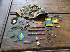 1967 Vietnam Green beret 5th Special Forces Major Cook, Large Lot