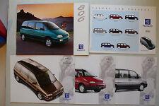 Prospekt Peugeot 806 zur Premiere, 7.1994, 40 + 3x4 Seiten+Farben/Polster/Preise