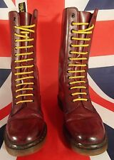 Classic Original 1914 Calf High Oxblood Cherry Red Dr Doc Marten Martin UK 9