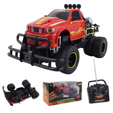 1/10 4CH RC Monster Truck Electric Remote Control Off-road Car All Terrain Red