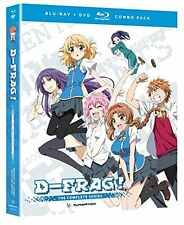 D-Frag! . The Complete Series . D-Fragments . Anime . 2 DVD + 2 Blu-ray . NEU