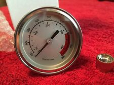 """2 1/4"""" BBQ SMOKER-GRILL THERMOMETER TEMP GAUGE 100-900 Degrees-Free Shipping"""