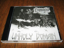 "DEMIGOD / NECROPSY ""Unholy Domain"" CD  demilich convulse agonized"