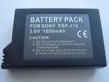 Batterie pour SONY PSP-110 PSP110 3.6V 1800mAh  NEUVE en France
