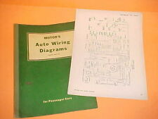 1957 1958 1959 1960 CHEVROLET IMPALA CONVERTIBLE BELAIR NOMAD WIRING DIAGRAMS