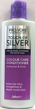 PROVOKE Touch Of Silver Colour Care Conditioner 200ml Blonde Platinum White Hair