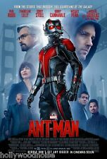 ANT-MAN ORIGINAL MOVIE POSTER DS 2 Sided Theatrical Final Version 27x40 HoNoWo