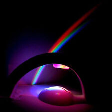 Romantic LED Rainbow Projector Night Light Lamp Mood Light Rainbow In My Room