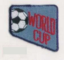 Denim Soccer Ball World Cup Embroidery Applique Patch