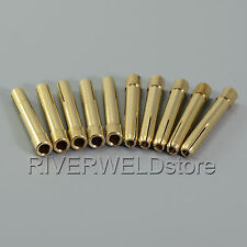 "10pcs Collets 2.4mm 3/32"" for QQ150A TIG welding torch Parts consumables"