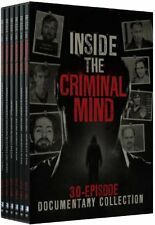 NEW Inside the Criminal Mind - 30 Episode Documentary Collection (DVD)