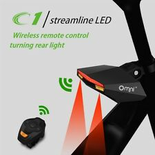 LED Bicycle Wireless Smart Rear Light Bike Turn Signal Remote Control Taillight