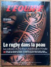 Equipe Magazine 1523 basket Batum rugby Pays de Galle Polynésie Bonatti  2011