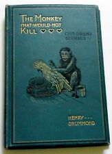 1898 THE MONKEY THAT WOULD NOT KILL 1st ed - Louis Wain plates