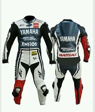 YAMAHA (LORENZO ) MotoGp MOTORBIKE LEATHER  SUIT- CE APPROVED FULL PROTECTION