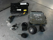 Renault Clio CUP 2000-05 172 ECU Lockset And Immobiliser 8200214974 / S118303109