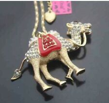 Cute NWT Betsey Johnson Necklace Red And Gold �� Camel ��