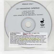 (FU321) Le Hammond Inferno, Move Your MP3 - 2001 DJ CD