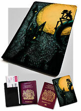 Passport Holder Jack Halloweentown Printed Faux Leather Cover Nightmare .