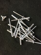 Thin Aluminium Split Rivets x 20