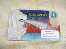 Singapore ,Starbucks,,new gift card, 0412 Singapore Merlion.