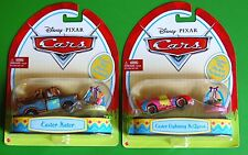 New Disney Pixar Cars Easter Lightning McQueen & Easter Mater Rare and In Hand