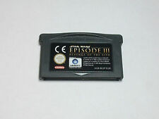 Nintendo GBA - Star Wars Episode 3 - Revenge of the Sith