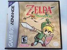 Zelda the Minish Cap - GBA - Replacement Case - No Game