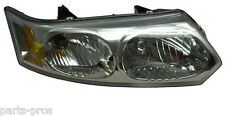 New Replacement Headlight Assembly RH / FOR 2003-07 SATURN ION 4-DOOR SEDAN