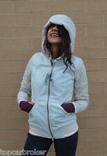 Lululemon Chilly Bomber Jacket size 4 Sand Dune Ghost NWT Beige Cream Down Coat