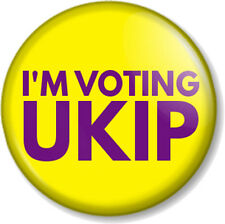 UKIP 25mm Pin Button Badge General Election Political UK Independence Party Logo