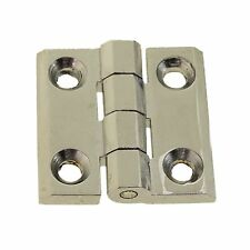 54611862 1 Par Eléctrico Tabla Tapa Nevera Industrial Bisagras Cromadas 40x40mm