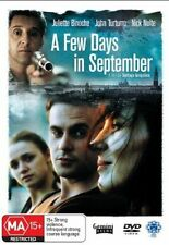 A FEW DAYS IN SEPTEMBER- MOVIE - BRAND NEW SEALED DVD R4