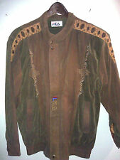 FILA men's casual jacket size medium , made in Italy