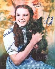 Wizard of Oz poster signed 8X10 photo picture autograph RP 3