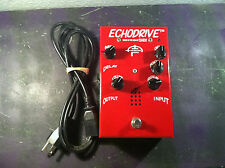 SIB ECHODRIVE TUBE DELAY/ECHO EFFECTS PEDAL w/CORD RARE FREE SHIP