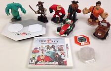 Nintendo 3DS Disney Infinity 1.0 Toy Box Challenge Starter Pack Video Game Used