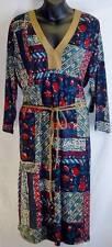 Lauren Ralph Lauren Tunic Size 2X Womens Plus New Blue Floral Patchwork 6295