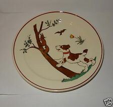 ASSIETTE PLATE VILLEROY & BOCH METTLACH MADE IN FRANCE SAAR.ECOMOMIE UNION  1634