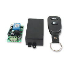 Transmitter+ Receiver FT DC 12v 10A relay 1CH wireless RF Remote Control Switch