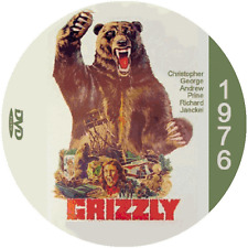 "Grizzly (1976) Classic Horror and Drama CULT ""B-Movie"" DVD"