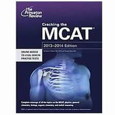 Graduate School Test Preparation Series Cracking the MCAT, by Princeton Review