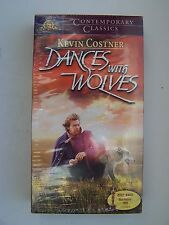 Dances With Wolves VHS Contemporary Classics Edition Kevin Costner